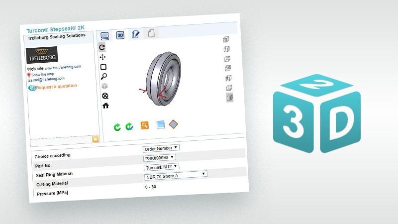 CAD Service | Design Support & Engineering Tools | Trelleborg